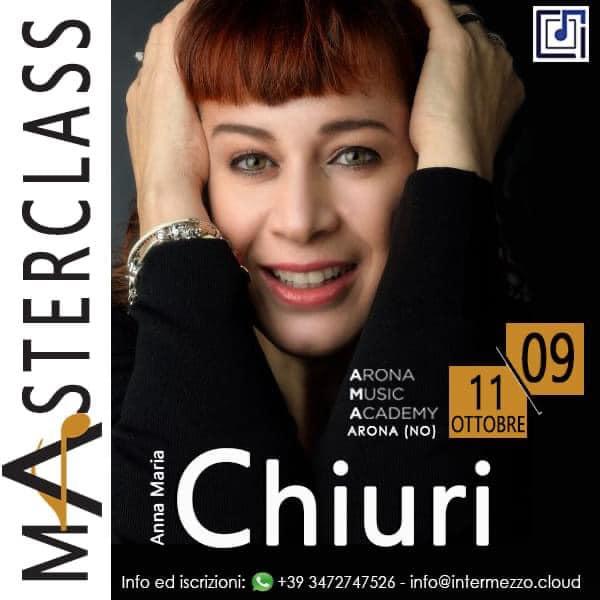 Anna Maria Chiuri masterclass Canto